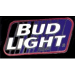 BUDWEISER BUD LIGHT SQUARE