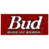 BUDWEISER PIN BUD KING OF BEER SQUARE PIN