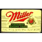 MILLER RACING LONG BEACH GRAND PRIX 1985 PIN DX