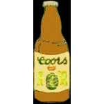 COORS PIN BEER BOTTLE PIN