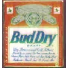 BUDWEISER BUD DRY LABEL SQ