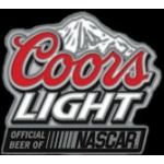 COORS LIGHT BEER OFFICAL BEER OF NASCAR PIN