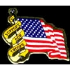 SUPPORT OUR TROOPS USA FLAG PIN