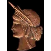 STATUE OF LIBERTY BRONZE RELIEF HEAD PIN