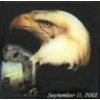 911 PATRIOTIC EAGLE WITH TEAR PIN