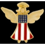 USA GUARDIAN ANGEL PIN