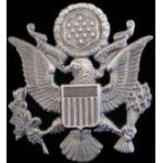 GREAT SEAL OF THE USA LARGE SILVER PIN