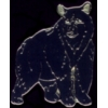 BLACK BEAR PIN STANDING