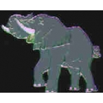 ELEPHANT PIN TRUNK UP ZOO SERIES