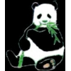 PANDA EATING ZOO SERIES