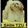 SHIH TZU PIN PHOTO STYLE DOG PIN