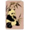 PANDA PIN LAVENDER SQUARE PANDA PIN