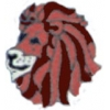 LION PIN LION HEAD PIN