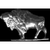 BUFFALO STANDING CAST PIN