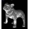 BULLDOG PIN CAST DOG PIN