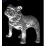 BULLDOG PIN CAST DOG PIN
