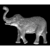ELEPHANT PIN TRUNK UP CAST MINI PIN