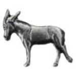 DONKEY PIN MULE PIN CAST PEWTER PIN