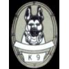 K-9 PIN SERVICE DOG K9 PIN