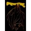 BAT HANGING AROUND PIN