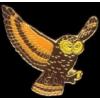 FLYING OWL PIN