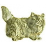 CAT PIN CAST FLUFFY CAT PIN