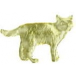 CAT PIN CAST STANDING CAT PIN