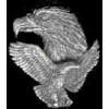 EAGLE FLIGHT AND HEAD CAST PIN