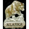ALASKA PIN BEAR HAT LAPEL PINS