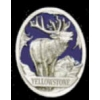 YELLOWSTONE ELK PIN CAST ELK OVAL PIN