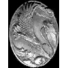 EAGLE SOARING PEWTER PIN