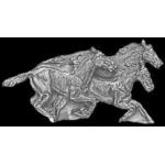HORSES RUNNING CAST PIN