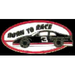 DALE EARNHARDT BORN TO RACE PIN