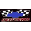 CHEVROLET CROSSED RACING FLAGS CHEVY POWER DX