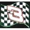NASCAR DALE EARNHARDT NUMBER 3 FLAG