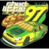 NASCAR DRIVER PIN CHAD LITTLE #97 WITH JOHN DEERE CAR PIN