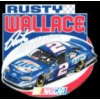 NASCAR RUSTY WALLACE LAST CAR PIN