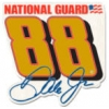 DALE EARNHARDT JR PIN NATIONAL GUARD PIN