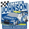 JIMMIE JOHNSON PIN CAR NUMBER HENDRICK NASCAR PIN