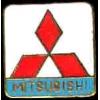 MITSUBISHI LOGO SQUARE PIN