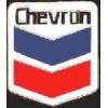 CHEVRON LOGO ENAMEL 1 INCH PIN