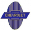 CHEVROLET OLD TIME STYLE LOGO-EMBELM PIN