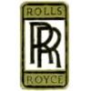 ROLLS ROYCE PIN LOGO GOLD WHITE PIN