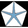 CHRYSLER PENTA STAR BLUE