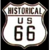 ROUTE 66 HISTORICAL SIGN RT 66 PIN
