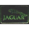 JAGUAR CAR LOGO BLACK SQUARE PIN