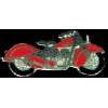 INDIAN MOTORCYCLE RED PIN