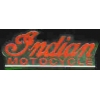 INDIAN MOTORCYCLE PIN RED SCRIPT INDIAN MOTORCYCLE PIN