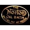 NORTON MOTORCYCLE OIL BATH OVAL PIN