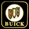 BUICK SHIELD SQUARE LOGO PIN